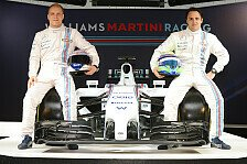 Formel 1 - Bilder: Der Williams FW36 im Martini-Design