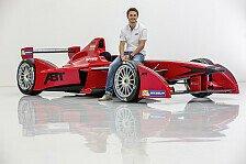 Formel E - Lackierung noch nicht final: ABT Sportsline zeigt Formel-E-Showcar in Genf