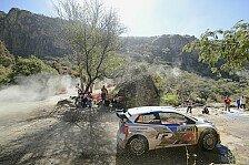 WRC - Kubica �berschl�gt sich: Ogier am Ende von Tag 2 in Mexiko vorne