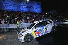 WRC - T�nak �berrascht WRC-Piloten: Mexiko: Ogier hauchd�nn in Front