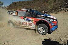 WRC - Es ist noch ein langer Weg: Robert Kubica: Mal wieder ein �berschlag