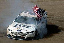 NASCAR - Earnhardt geht der Sprit aus: Keselowski siegt in Sin City