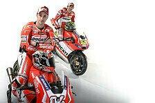MotoGP - Crutchlow f�hlt sich in der Ducati-Familie wohl: Dovizioso rechnet mit besserem Start als 2013