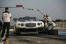 Blancpain GT Serien - Bentley Continental mit Bestzeit: Camaro gut aufgestellt