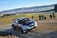 Rallye - Baumschlager bei der Lavanttal-Rallye der Gejagte
