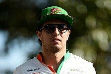 Formel 1 - Team geht definitiv in richtige Richtung: Sergio Perez: Will an Erfolge in Sepang ankn�pfen