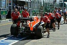Formel 1 - Chilton zum 20. Mal in Folge im Ziel: Marussia: Nach Start-Blamage weit abgeschlagen