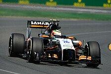 Formel 1 - Die gute Form noch steigern: Force India Vorschau: Malaysia GP