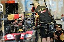 Formel 1 - �nderungen am Auto vorgenommen: Lotus & Marussia legten Nachtschicht ein