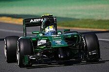 Formel 1 - Nur drei Runden am Freitag: Caterham: Vom Testweltmeister zum Pannenteam