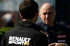 Formel 1 - Nur ein zus�tzlicher Pr�fstand: Renault spielt Pr�fstands-Test herunter