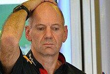 Formel 1 - Zeitverlust von bis zu 0.4 Sekunden pro Runde : Newey vs. FIA: Platz zwei w�re unm�glich gewesen