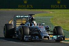 Formel 1 - Full-Wets waren das geringere Risko: Hamilton: Reifenpoker ist aufgegangen