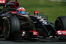 Formel 1 - 44 Runden besser als gesamte Wintertests: Romain Grosjean: Wir sind gierig