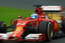 Formel 1 - Was ist Kimis Problem?: Alonso-Ansage: Wir k�mpfen um den Titel!