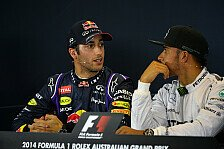 Formel 1 - K�mpfen bis zum Schluss: Marko: Ricciardo auf Hamilton-Niveau