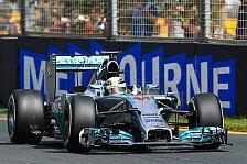 Formel 1 - Ich dr�cke die Daumen: Hamilton kann Melbourne-Motor wiederverwenden