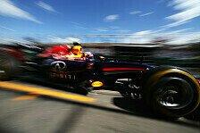 Formel 1 - Start frei f�r das Entwicklungsrennen: Red Bull auf Silberpfeil-Jagd