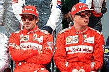 Formel 1 - Kimi ist kein Iceman : Villeneuve: Alonso will R�ikk�nen zerst�ren