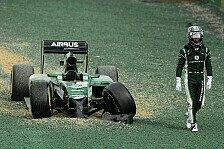 Formel 1 - Nach Crash in die Punkte?: Caterham Vorschau: Malaysia GP
