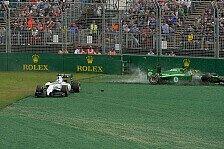 Formel 1 - Bremsen versagen: Kobayashi schuldlos an Crash mit Massa