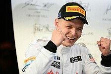 Formel 1 - Fehlende Erfahrung nicht kritisch: Magnussen: Bin keine Eintagsfliege