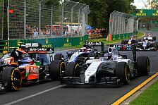 Formel 1 - Wie stark ist Williams?: Bottas: Starke Aufholjagd trotz Mauerkuss