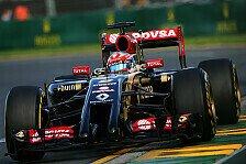 Formel 1 - Die Lage hat sich stabilisiert: Lotus-Desaster: Grosjean fordert mehr Manpower