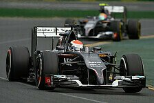 Formel 1 - Bilder: Die besten Bilder 2014: Sauber