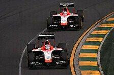 Formel 1 - Zielank�nfte als Minimalziel: Marussia Vorschau: Malaysia GP