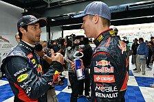 Formel 1 - Video: Ricciardo vs. Kvyat - Duell der besonderen Art