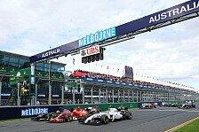 Formel 1 - Bilderserie: Australien GP - Statistiken zum Rennen
