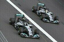 Formel 1 - Abst�nde werden gr��er: Mercedes Vorschau: Malaysia GP