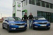Auto - Cool und kompakt: Rallye-Duo erh�lt Skoda Rapid Spaceback