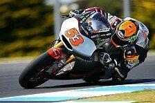 Moto2 - Aegerter auf Rang drei: Rabat schnappt sich die Pole Position