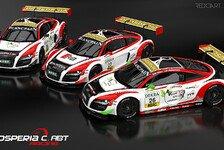 ADAC GT Masters - Drei Autos am Start: Abt Racing mit starkem Fahreraufgebot