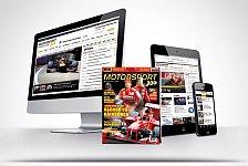 Formel 1 - Du hast Motorsport-Magazin.com zum Marktf�hrer gemacht: Motorsport-Magazin.com sagt Danke: Ihr seid spitze