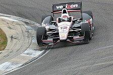 IndyCar - Schwierige Bedingungen: Testfahrten: Power behauptet die Spitze