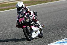 Moto3 - Jungs hassen es von einem M�dchen �berholt zu werden: Ana Carrasco - allein unter M�nnern