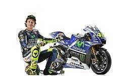 MotoGP - Bilder: Yamaha pr�sentiert neues Design