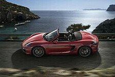 Auto - Bilder: Porsche Boxter GTS und Cayman GTS