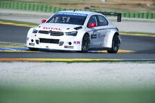 WTCC - Citroen-Test in Valencia