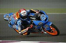 Moto3 - Honda belegt die Top-4: Rins f�hrt schnellste Runde im Warm-Up