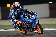 Moto3 - St�rze bei schwierigeren Bedingungen: Rins holt die erste Pole des Jahres