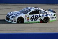 NASCAR - Patrick schafft Startplatz vier: Champion Johnson holt Pole Position