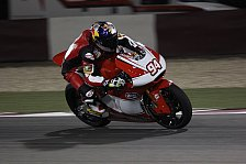Moto2 - Folger erlebt eine Überraschung in Katar