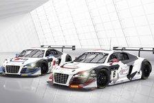 Blancpain GT Serien - Zwei Audis mit zwei Weltmeistern : Phoenix mit Audi in Sprintserie