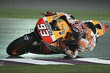 MotoGP - Lorenzo und Bradl werfen die F�hrung in den Kies: Marquez gewinnt den Auftakt in Katar