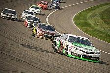 NASCAR - Favoritensterben durch unz�hlige Reifensch�den : Kyle Busch siegt vor Kyle Larson