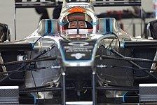 Formel E - Ideal f�r einen Rennfahrer: Trulli von Formel-E-Auto begeistert
